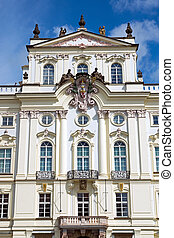 The Archbishop Palace in Prague