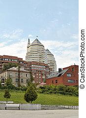The architectural complex