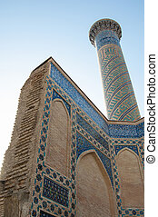 the architecture of ancient Samarkand