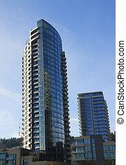 The Ardea tower, Portland OR. - A new high rise condominium...