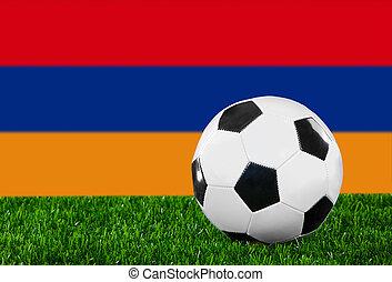 The Armenian flag