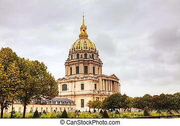 The Army Museum in Paris, France