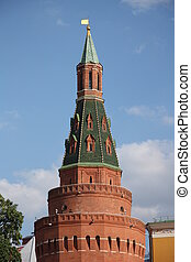 The Arsenal Tower of Moscow Kremlin