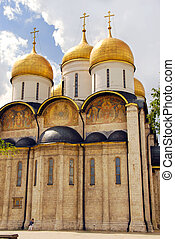The Assumption cathedral in Moscow Kremlin