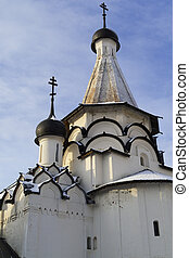The Assumption refectory church of Holy Euthymius monastery in Suzdal