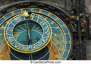 The Astronomical clock in Prague - The Astronomical clock in...
