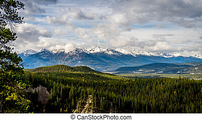 The Athabasca River Valley - Athabasca River Valley in...