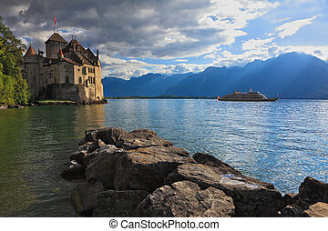 The autumn in Montreux - The beginning of autumn in...