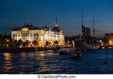 Avrora - The Avrora ship in St.- Petersburg