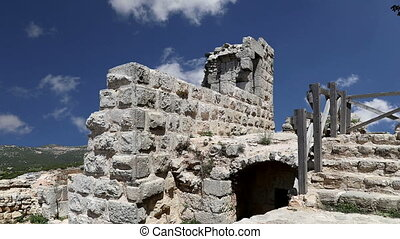 castle of Ajloun in northern Jordan - The ayyubid castle of...