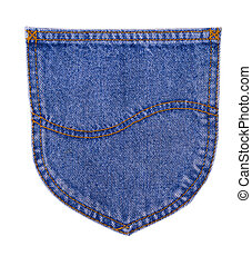 the back pocket of jeans