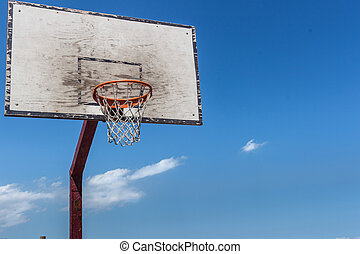 The backboard basketball