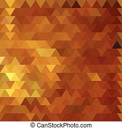 The background in gold color