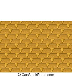 The background of gold bullion - Abstract background of gold...