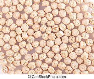 The background of piles of pale whole grain children
