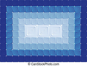 The background of the square tiles