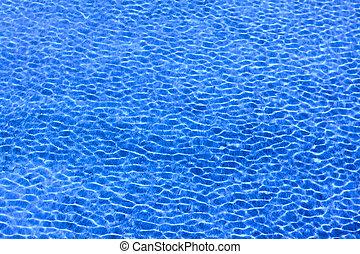 water ripple on sea
