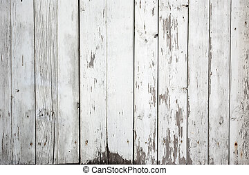 background of weathered white painted wood - the background ...