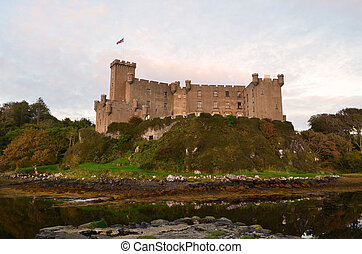 The Backside of Dunvegan Castle