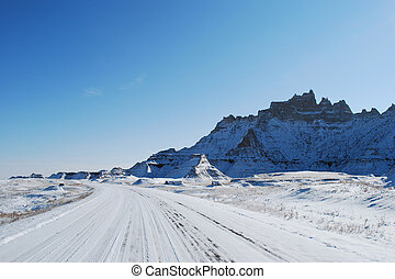The Badlands road trip in November