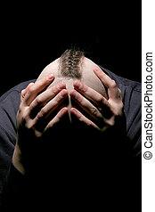 The bald head