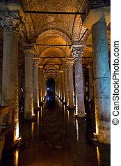 The Basilica Cistern, Istanbul - Underground Basilica...