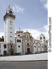 The Basilica of Candelaria, Tenerife. The most important religous cathederal in the Canaries