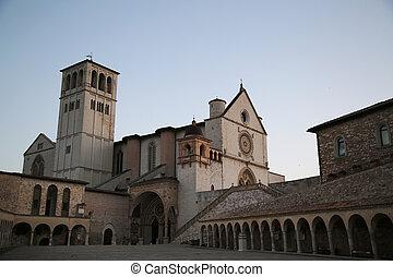 The Basilica of Saint Francis of Assisi