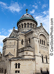 the Basilica of Saint-Martin, Tours, France