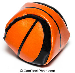 Basketball souvenir isolated on white background