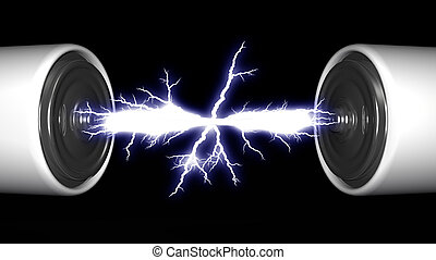 batteries and electric arc
