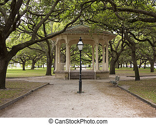 The Battery in downtown Charleston, South Carolina - Park ...