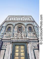 The Battistero di San Giovanni in Florence, Italy - The ...