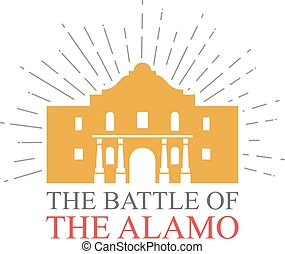 The Battle of the Alamo design