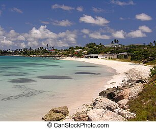 The bay of Coco Beach / Aruba