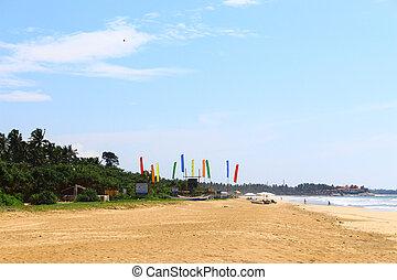 The beach at Bentota
