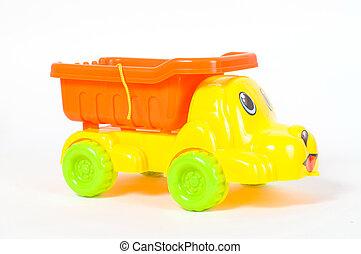 The beach car toy