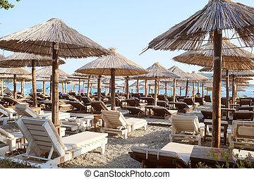 The beach of an Adriatic sea