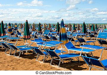 the beach on a sunny day