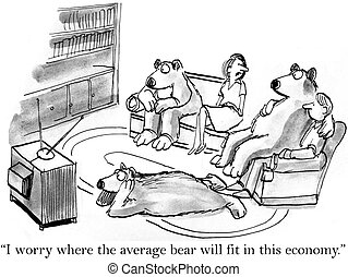 The bears are concerned about jobs