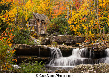 Glade Creek Grist Mill - The beautiful and picturesque Glade...