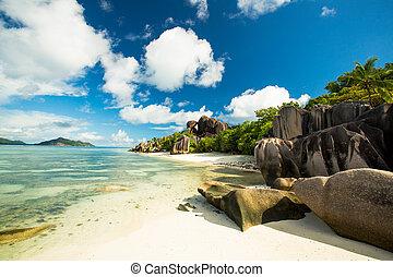 Anse Source D'Argent beach