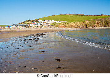 Challaborough Bay Devon England