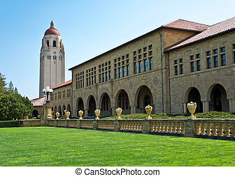 Stanford University - The beautiful campus of Stanford...