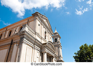 the beautiful church of vibo Valentia in Calabria