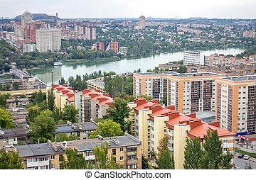 The beautiful city of Donetsk