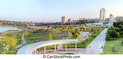 beautiful city of Donetsk, Ukraine