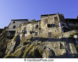 The beautiful city of Orte, an ancient Lazio village on the border with Umbria