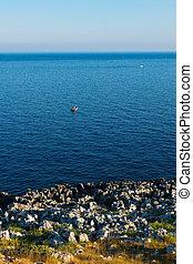 the beautiful city of Otranto in Puglia