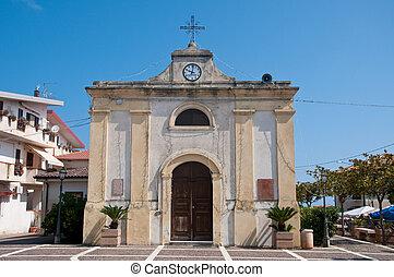 the beautiful city of zambrone in Calabria